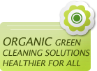 green cleaning & organic carpet cleaning products