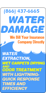 floods and water damages restoration